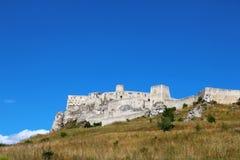 Spisu kasztelu Spissky hrad, Sistani Zdjęcie Royalty Free