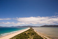 The Spit Lookout - Bruny Island Stock Photo