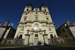 Spital am Pyhrn Cathedral, Oberosterreich, Austria royalty free stock photography