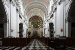 Spital am Pyhrn Cathedral, Oberosterreich, Austria stock photos