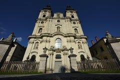 Spitalam Pyhrn Kathedraal, Oberosterreich, Oostenrijk Royalty-vrije Stock Fotografie