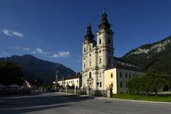 Spitalam Pyhrn Kathedraal, Oberosterreich, Oostenrijk Stock Afbeeldingen