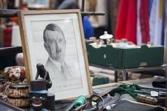 Spitalfields滑稽的市场 库存图片