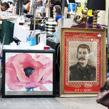 Spitalfields Antic Market Stock Images