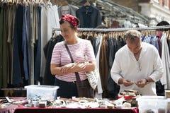 Spitalfields Antic Market Stock Photo