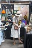 Spitalfields antique Market Stock Photography