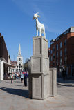 Spitalfields Goat Royalty Free Stock Images