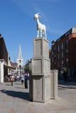 Spitalfields Goat Royalty Free Stock Images