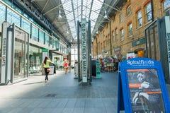 Spitalfields Market entrance, Sherrin Gate Royalty Free Stock Photo