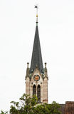 Spitalkirche dans la ville de Schwabach Images libres de droits