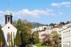 Spitalskirche i Baden-Baden Royaltyfri Foto