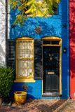 The Spite House, in Old Town, Alexandria, Virginia.  royalty free stock images