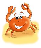 Spiteful crab Stock Image