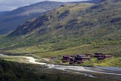 Spiterstulen em Jotunheimen Imagem de Stock