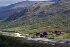 Spiterstulen в Jotunheimen Стоковое Изображение