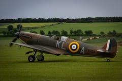 Spitfire σε Duxford στοκ φωτογραφίες με δικαίωμα ελεύθερης χρήσης