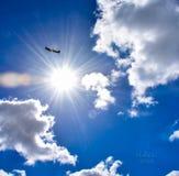 Spitfire в солнце Стоковое Изображение