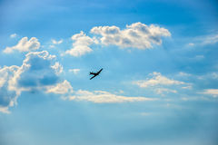 spitfire полета Стоковое Изображение RF