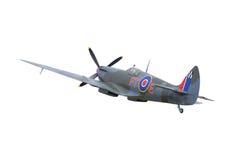 spitfire самолет-истребителя стоковое изображение rf