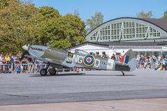 spitfire royalty-vrije stock fotografie