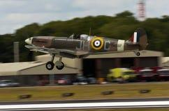 Spitfire aéroporté de Camoflage Photo libre de droits