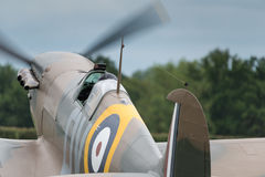 Spitfire British fighter plane Stock Photos