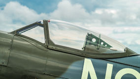 Spitfire Canopy Royalty Free Stock Photography