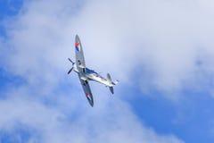 Spitfire d'argento Immagini Stock Libere da Diritti