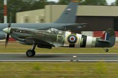 Spitfire de Camoflage de la vendimia Imagen de archivo