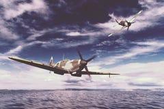 Spitfire de Supermarine Foto de Stock