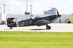 Spitfire de Supermarine Fotografía de archivo libre de regalías