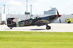 Spitfire de Supermarine fotografia de stock royalty free