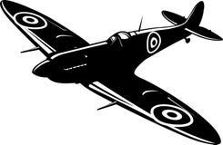 Spitfire del combatiente stock de ilustración