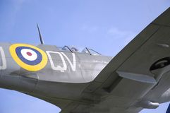 Spitfire Detail Stock Images