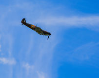 Spitfire in dive Royalty Free Stock Photos