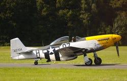 Spitfire e mustang Immagine Stock Libera da Diritti