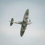 Spitfire en vol Image libre de droits