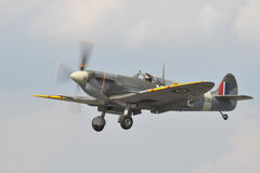 Spitfire Fighter Stock Photography