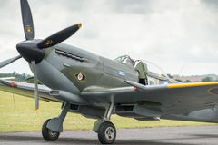 Spitfire fighter Stock Images