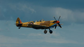 Spitfire in flight Royalty Free Stock Photography