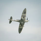 Spitfire in flight Royalty Free Stock Image
