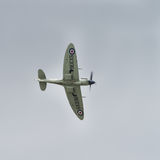 Spitfire in flight Stock Photos