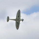 Spitfire in flight Royalty Free Stock Photos