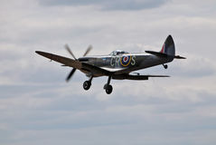 Spitfire landing approach Stock Photo