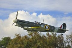 Spitfire memorial W3644 Stock Photography