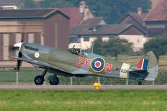 Spitfire Mk di Supermarine Aereo da caccia D-FEUR della seconda guerra mondiale 8 fotografie stock libere da diritti