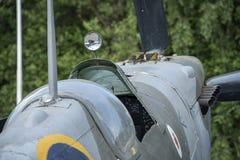 Spitfire Mk IX, сериал никакой EN398, JE-J стоковые фотографии rf