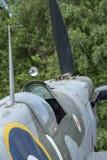 Spitfire Mk IX, сериал никакой EN398, JE-J стоковые изображения rf