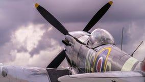 Spitfire Mk Supermarine. XVI Стоковое Изображение