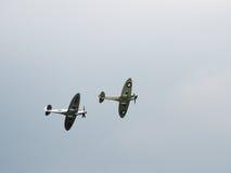 Spitfire Mk X1X PS915 последний один произведенный летать над Dunsfold Стоковое фото RF